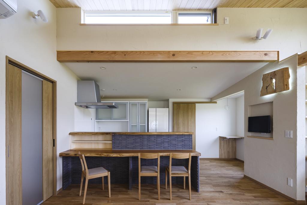 安積永盛の家・風と光と自然素材の写真