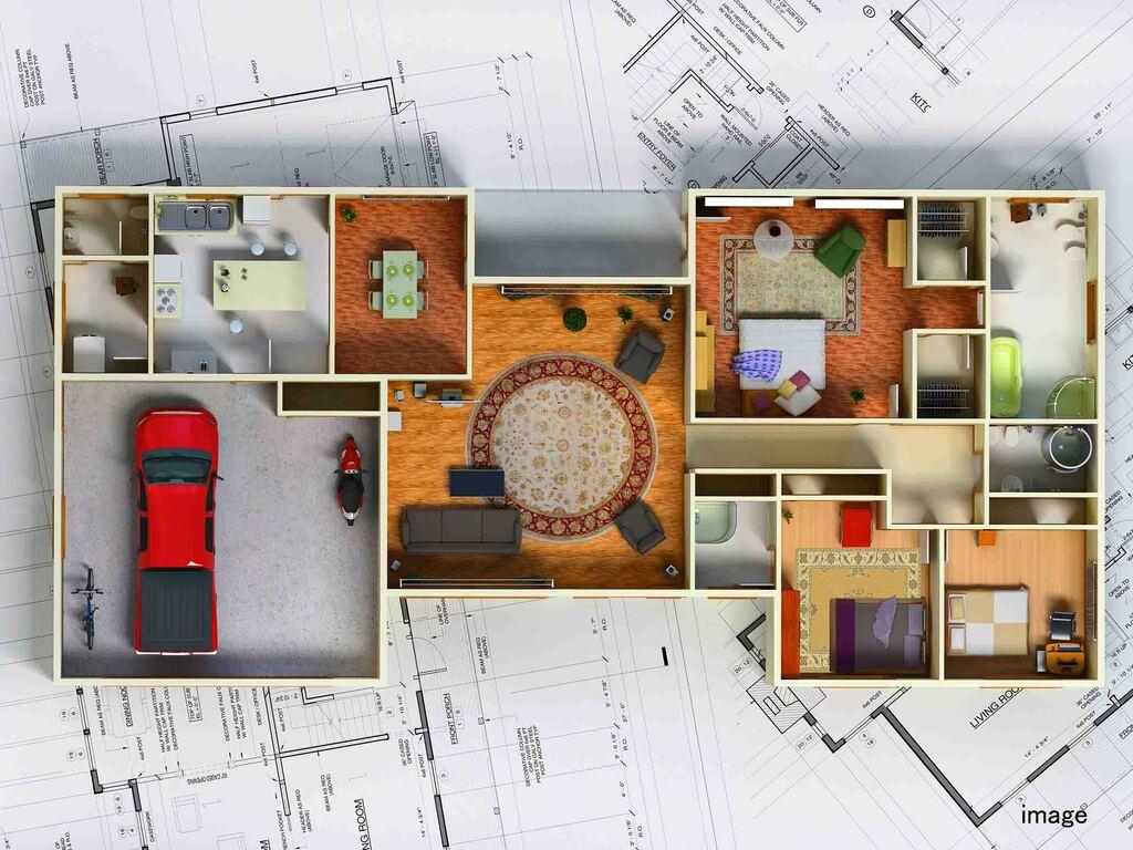 家事の手間が劇的に減らせる間取りのイメージ