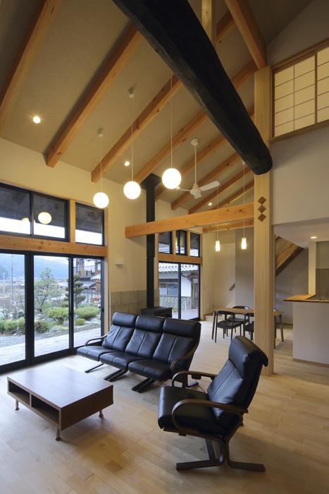 名田庄の家の写真
