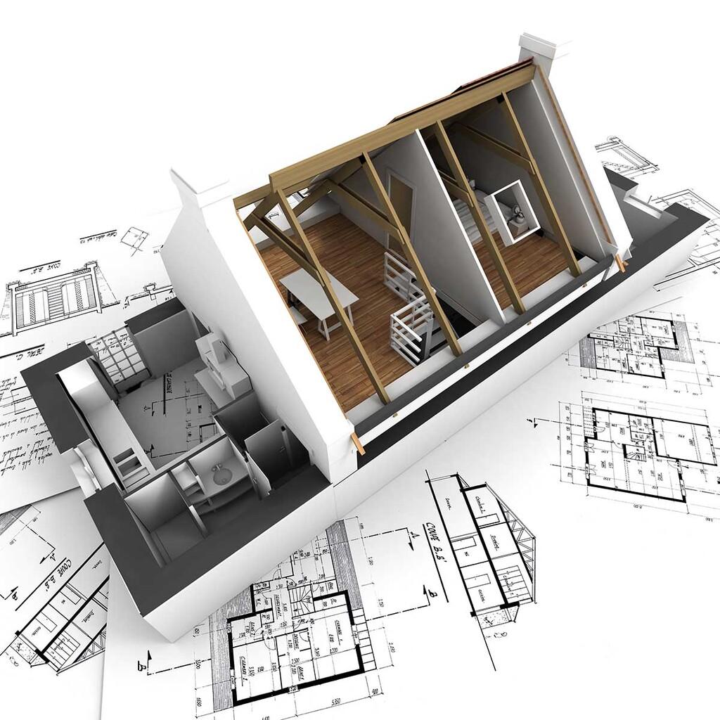 狭小地・変形地での家づくりのイメージ