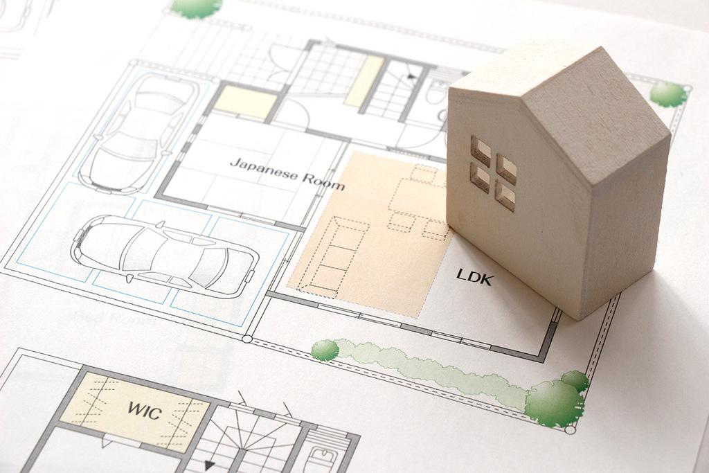 変形地 (斜面・狭小・旗竿地)の家づくりのイメージ