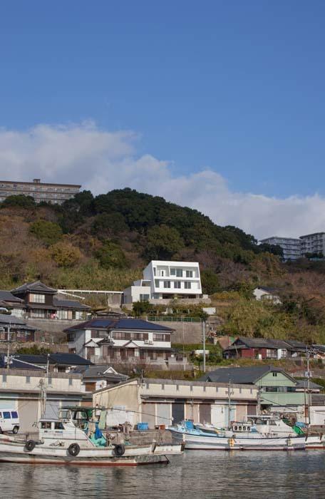 水平線の家の写真