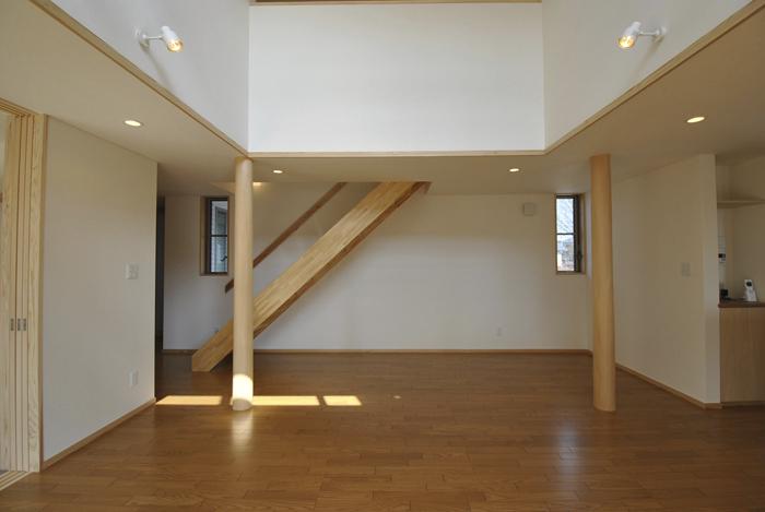 キャットウォークのある家の写真