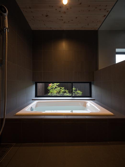 桜島の見える家の写真