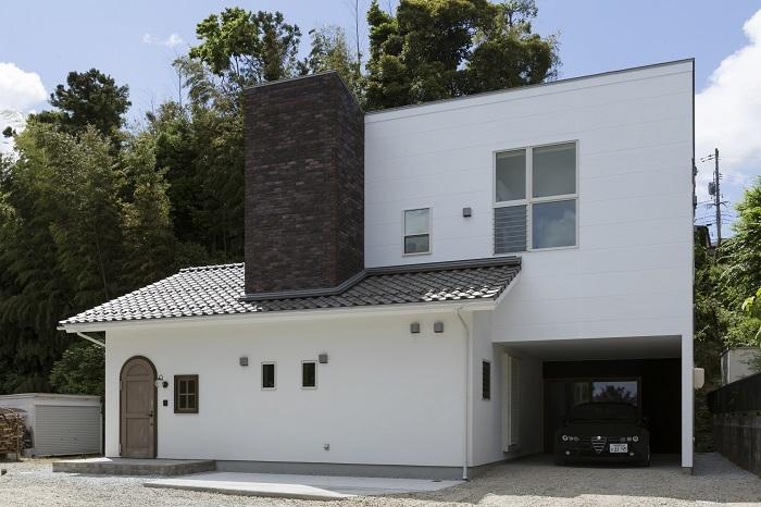 里山と暮らす家