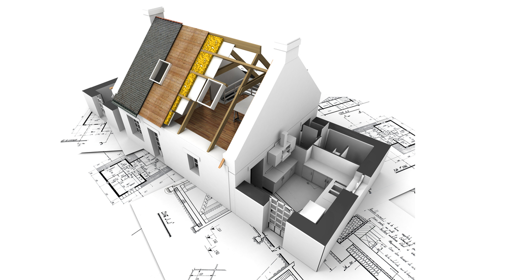 住宅街におけるパッシブデザインのイメージ