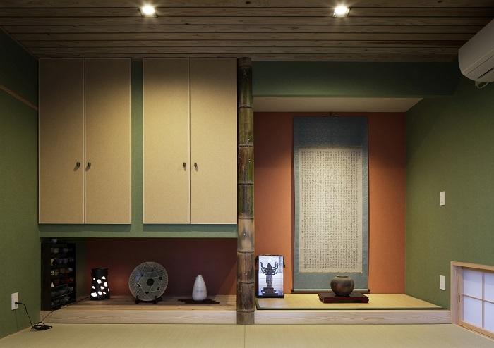 ギャラリーのある家の写真