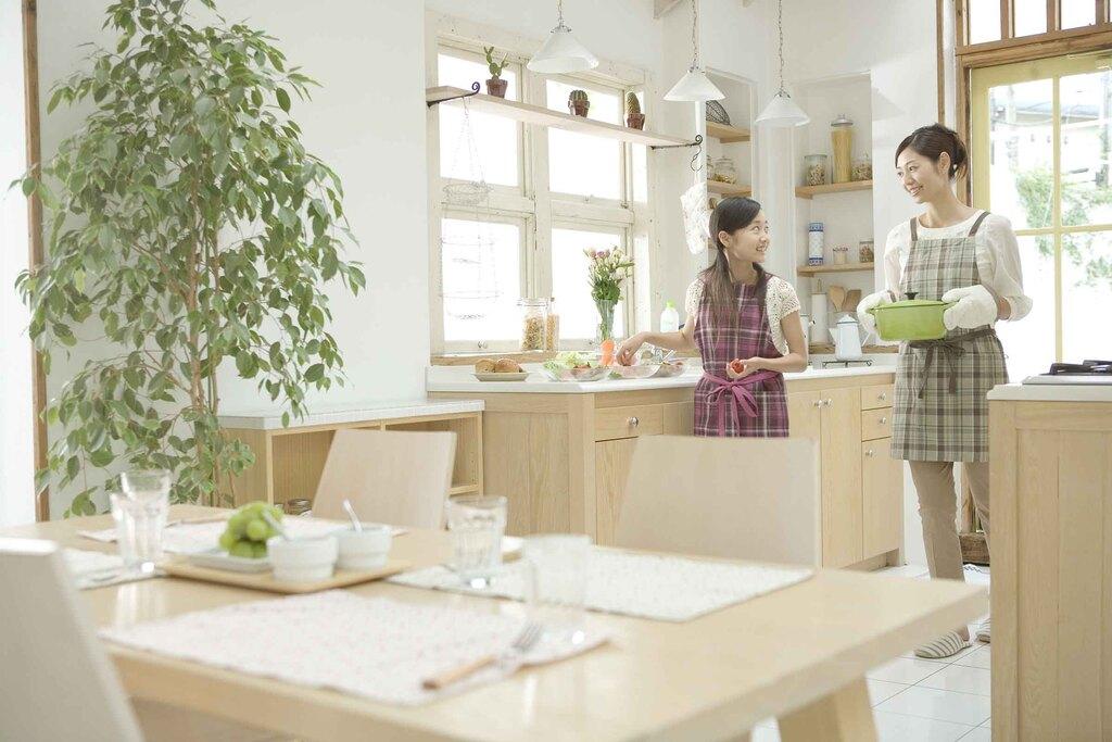 女性建築家が考える生活動線のイメージ