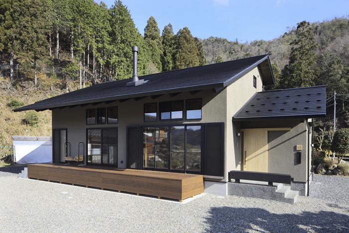 名田庄の家