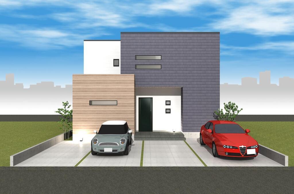 風景を楽しむ家のイメージ