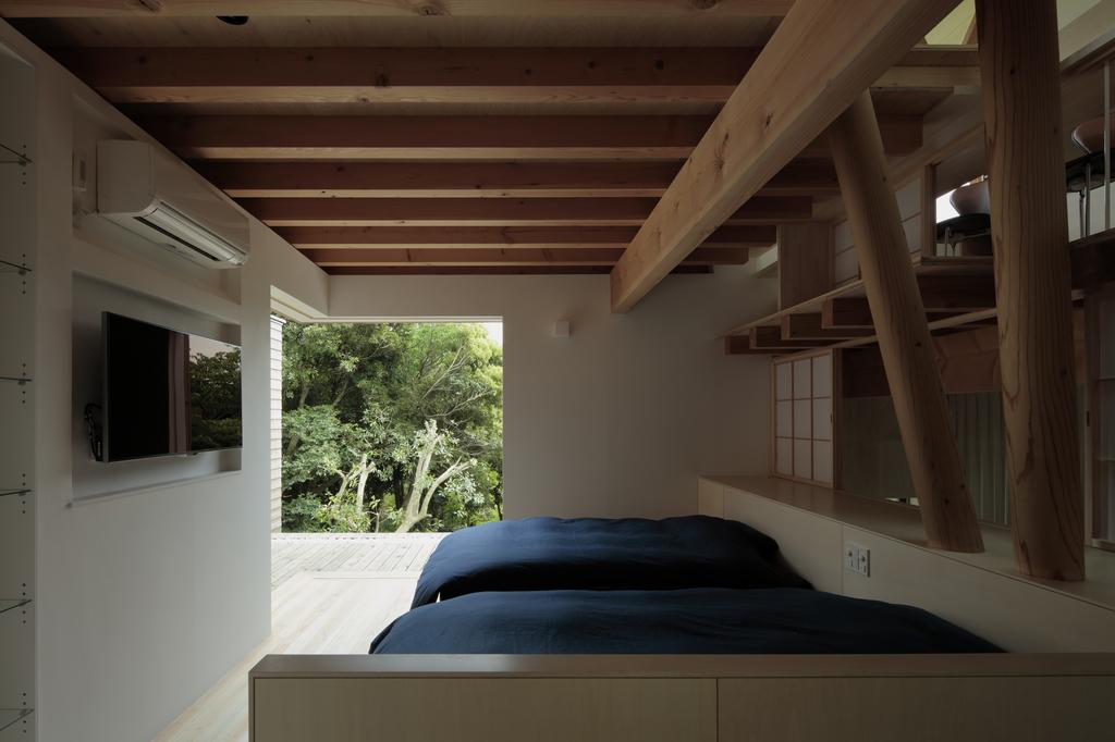 軽井沢の別荘の写真