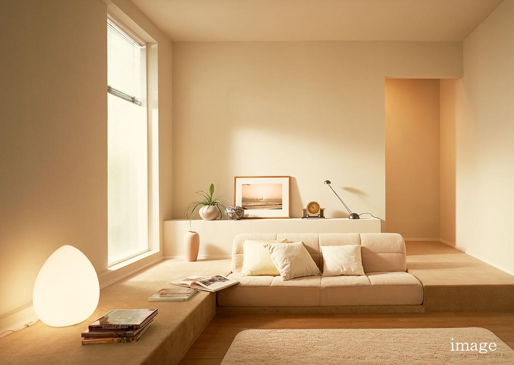 『温かい家』~蓄熱床暖房のある建築家自邸のイメージ