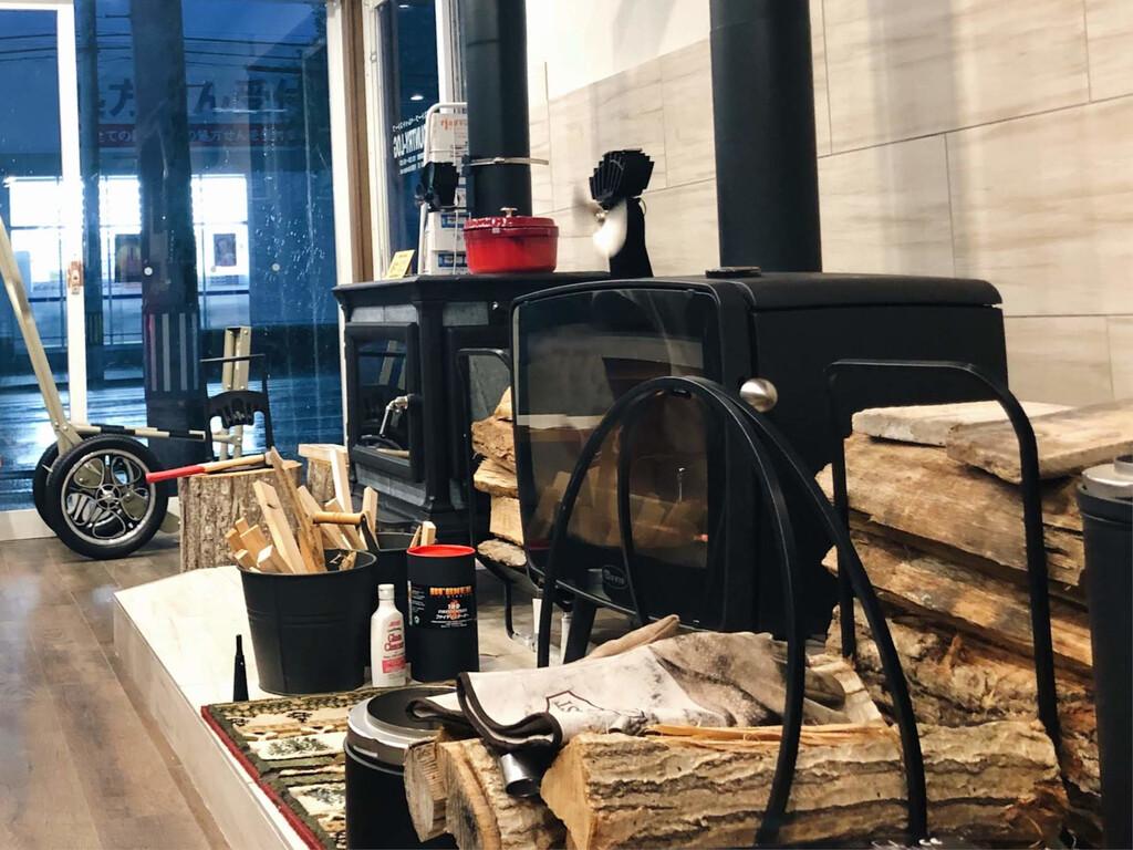 薪ストーブ ペレットストーブを建築家と考える展示会 のイメージ