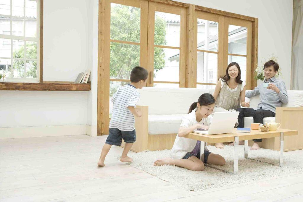 子どもの自立を育む家づくりのイメージ