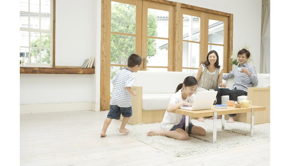 楽しい暮らし、自分らしい家づくりのイメージ