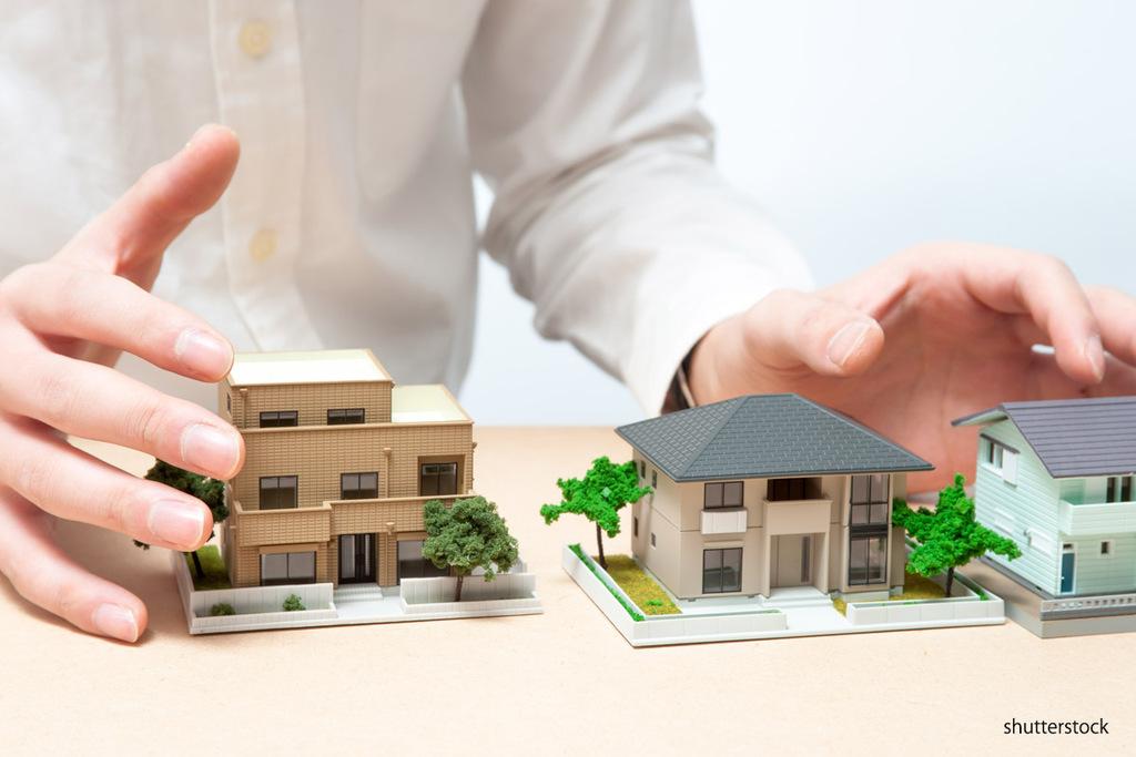 ハウスメーカーと建築家の違いのイメージ
