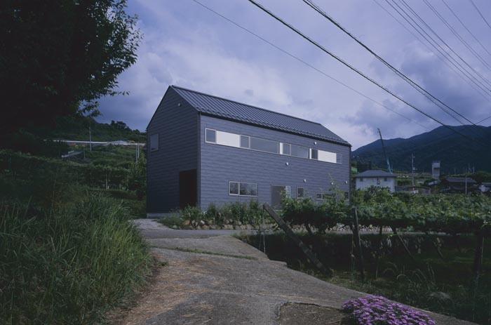ぶどう畑の家