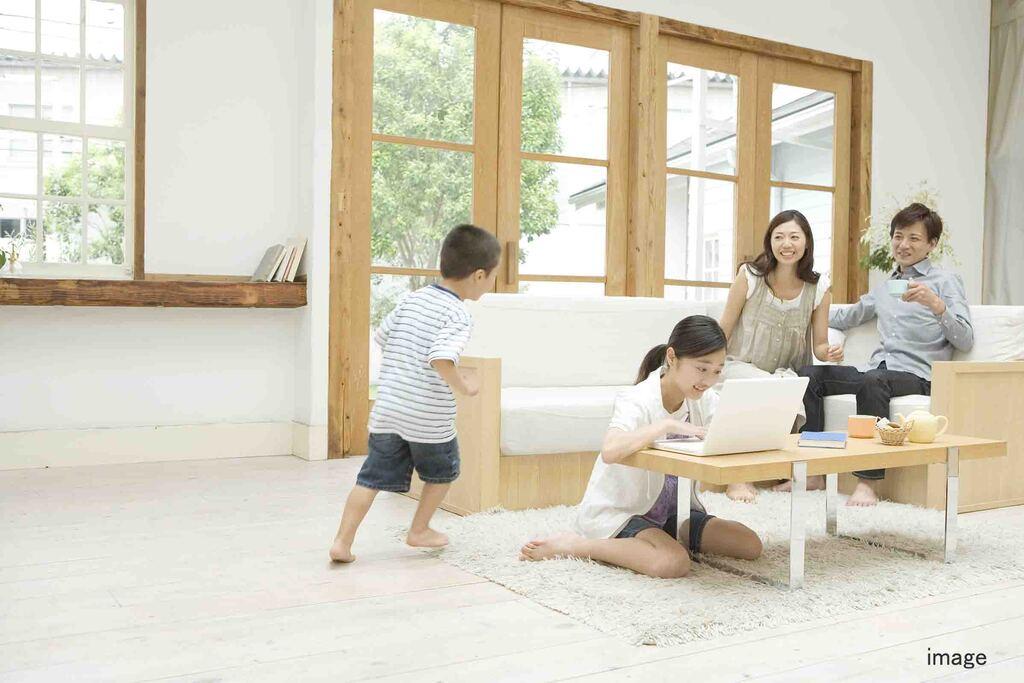 子育て家族の家づくりのイメージ