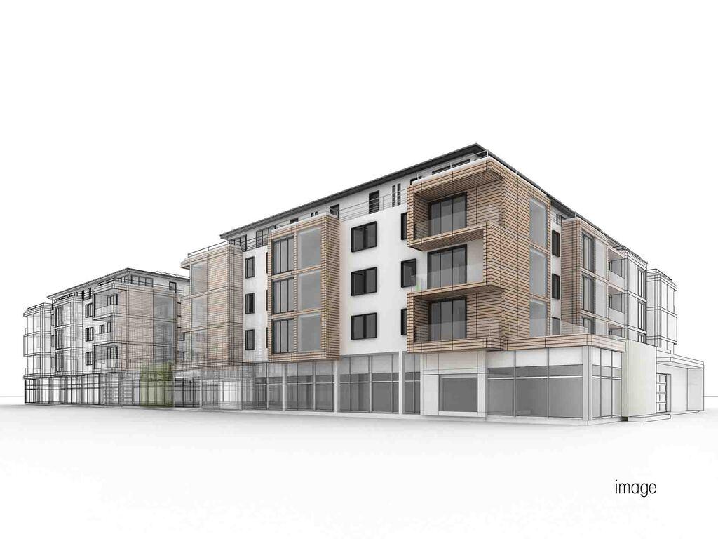 郊外で実現する収益性の高いデザイン賃貸住宅のイメージ