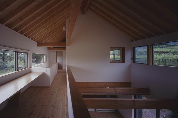ぶどう畑の家の写真