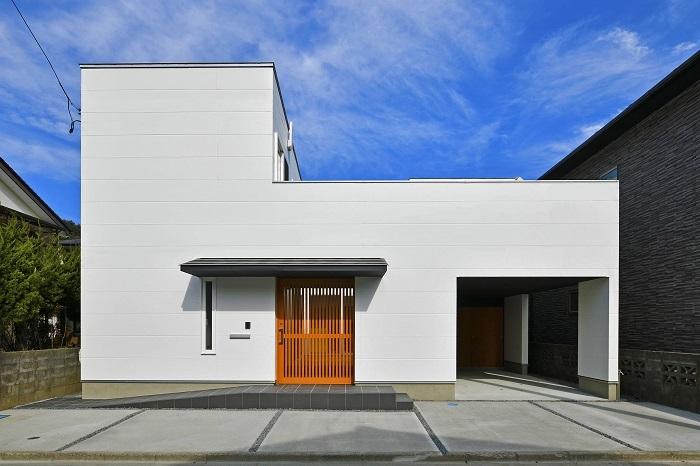 PROTO BANK 024 - 釜石のコートハウス (設計: 池田勝彦) の外観写真